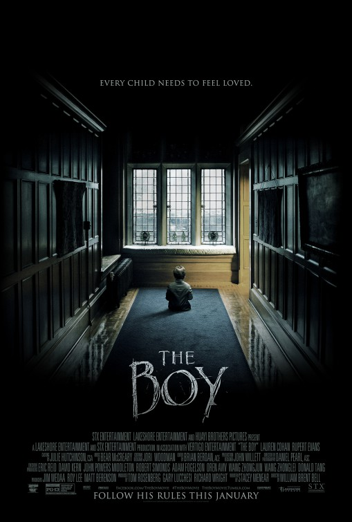 Image result for The Boy movie poster