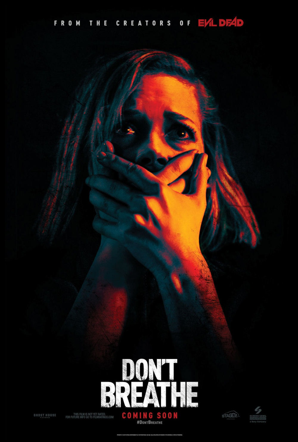 Image result for don't breathe poster