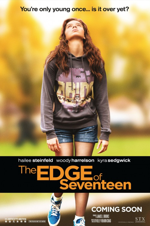 Image result for the edge of seventeen movie poster imp