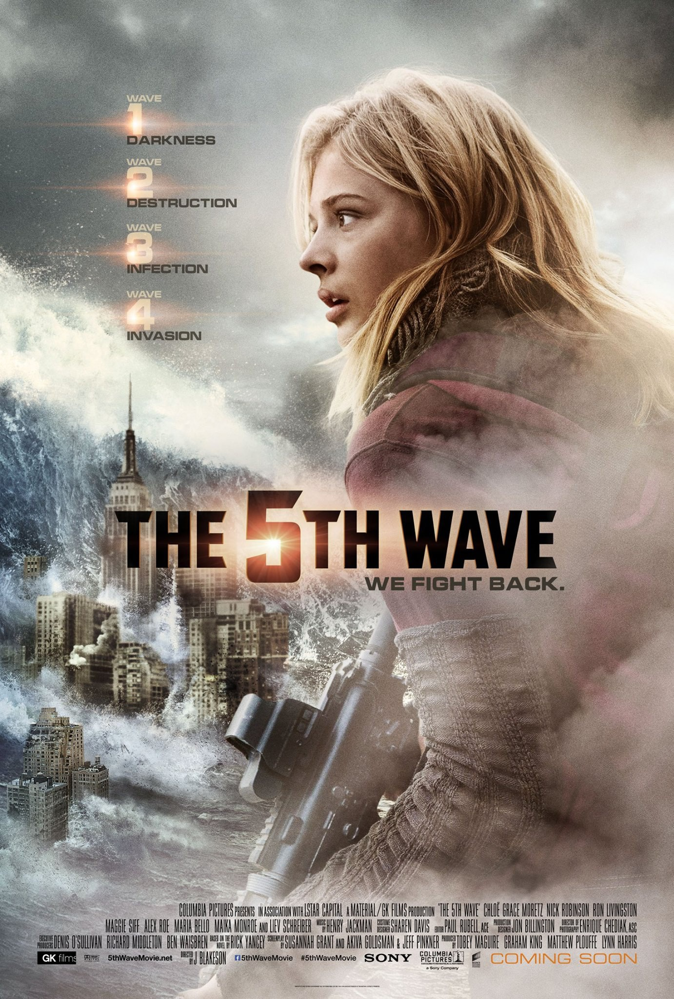 Image result for the 5th wave movie poster