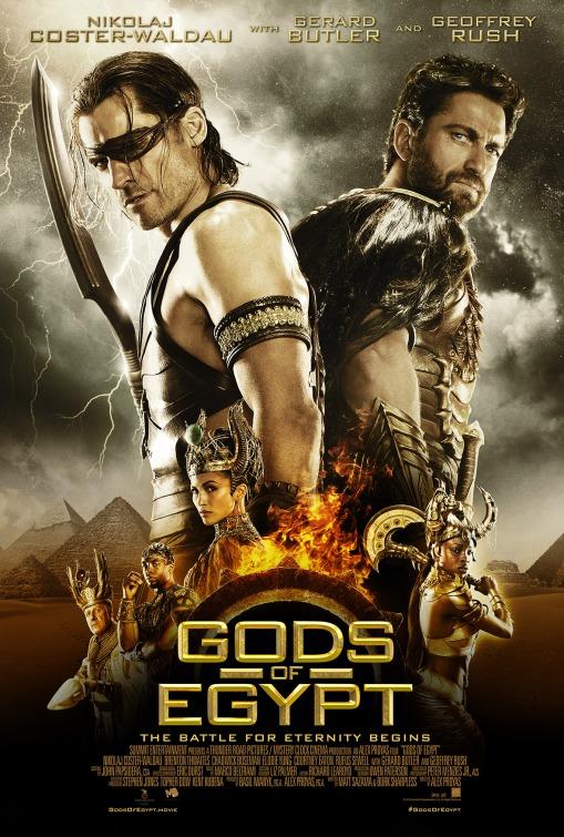 Image result for Gods of Egypt movie poster