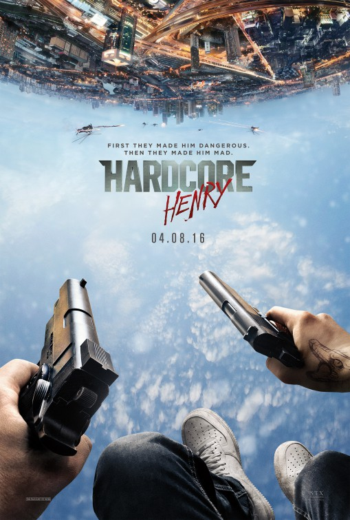 Image result for Hardcore Henry movie poster