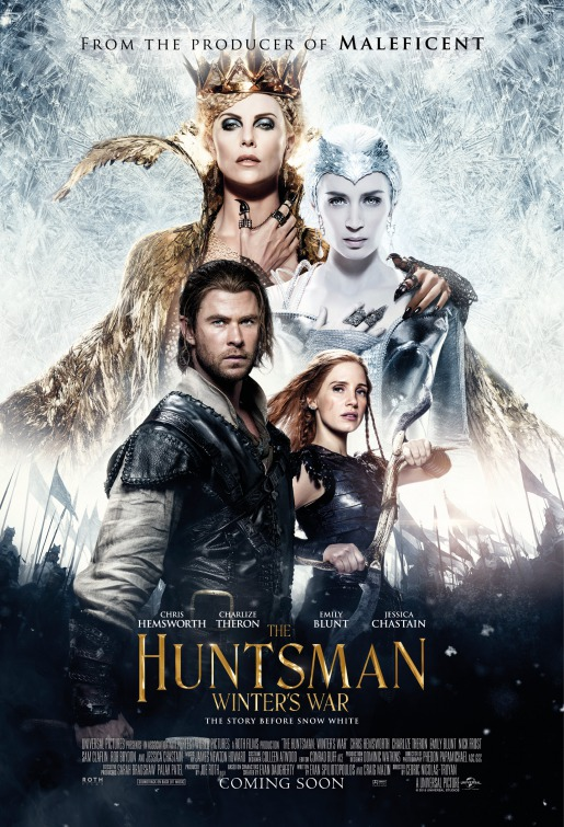 Image result for The Huntsman: Winter's War movie poster