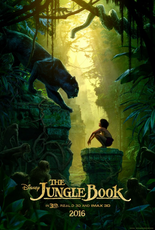 Image result for the jungle book movie poster 2016