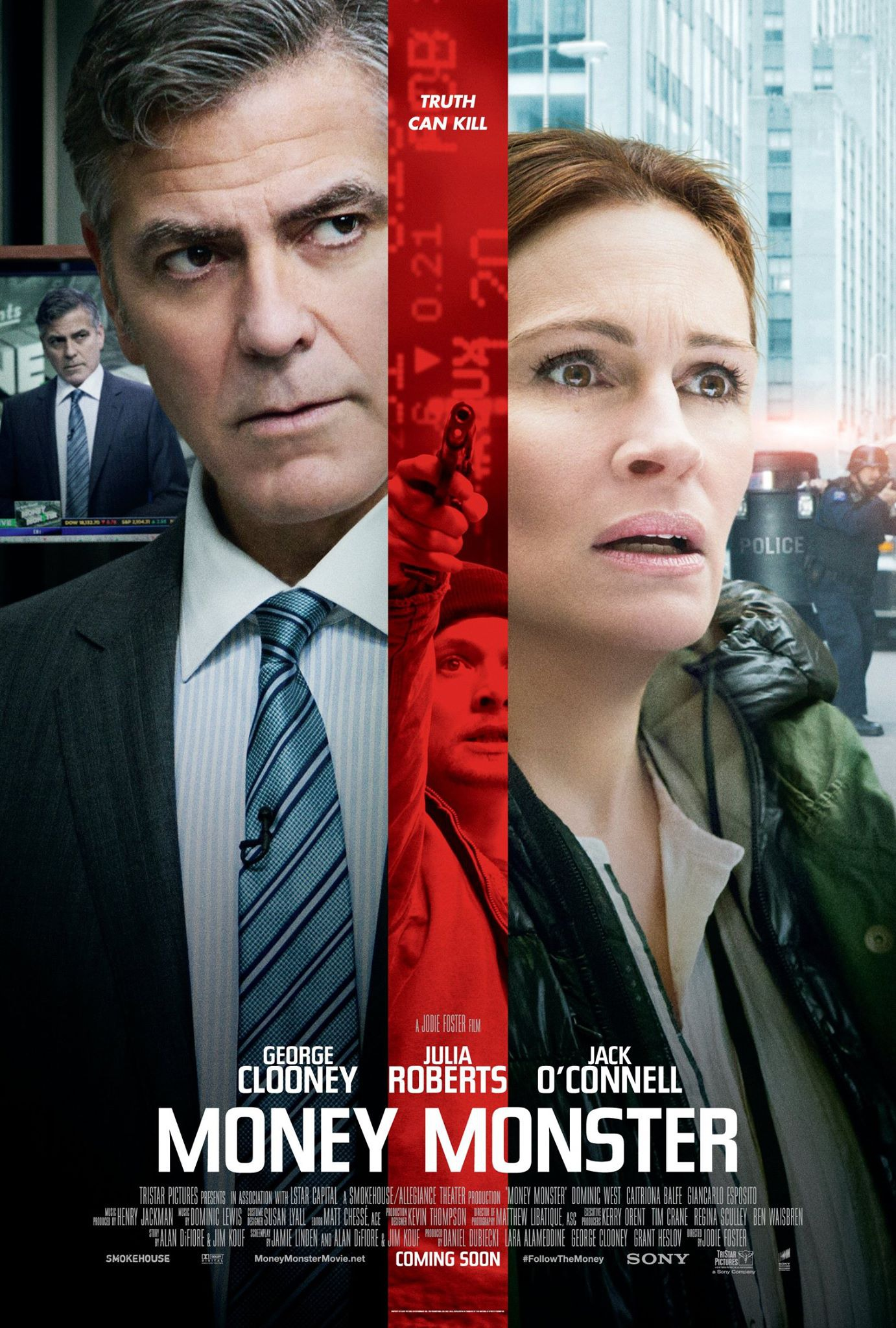 Image result for money monster movie poster