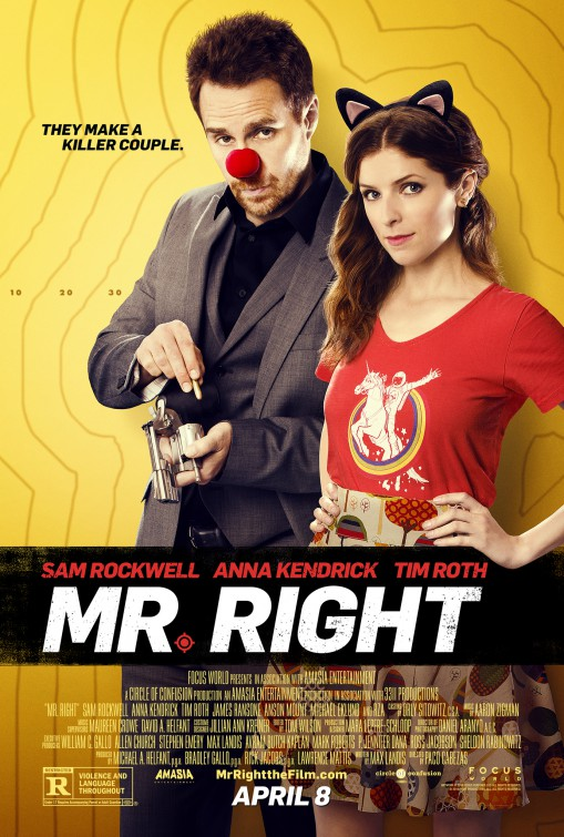 Image result for mr right movie poster imp
