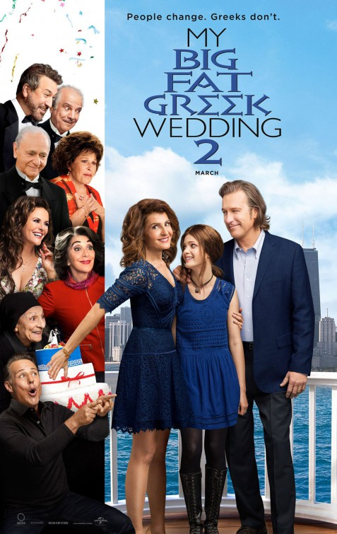 Image result for my big fat greek wedding 2 movie poster