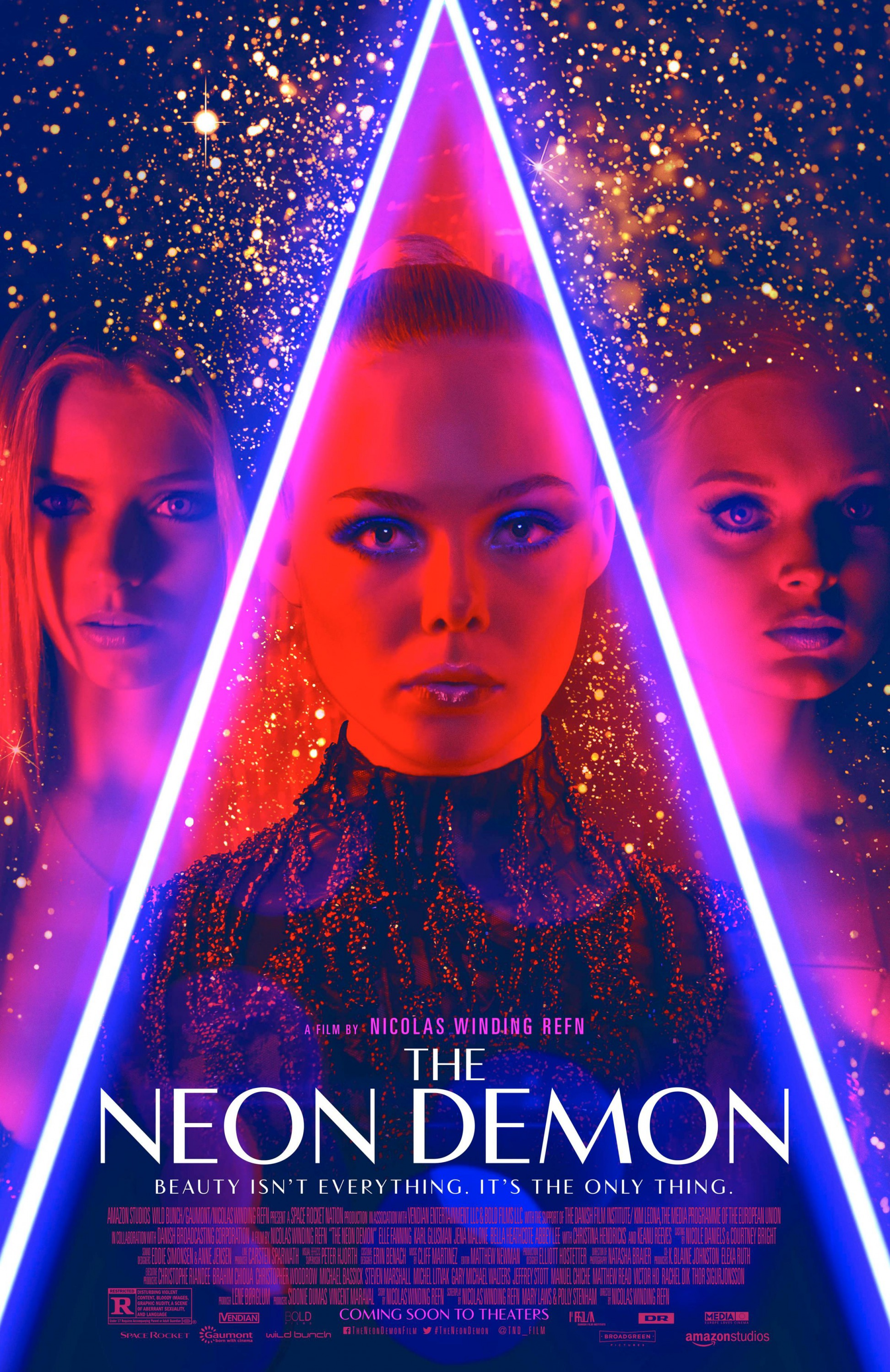 Image result for the neon demon movie poster