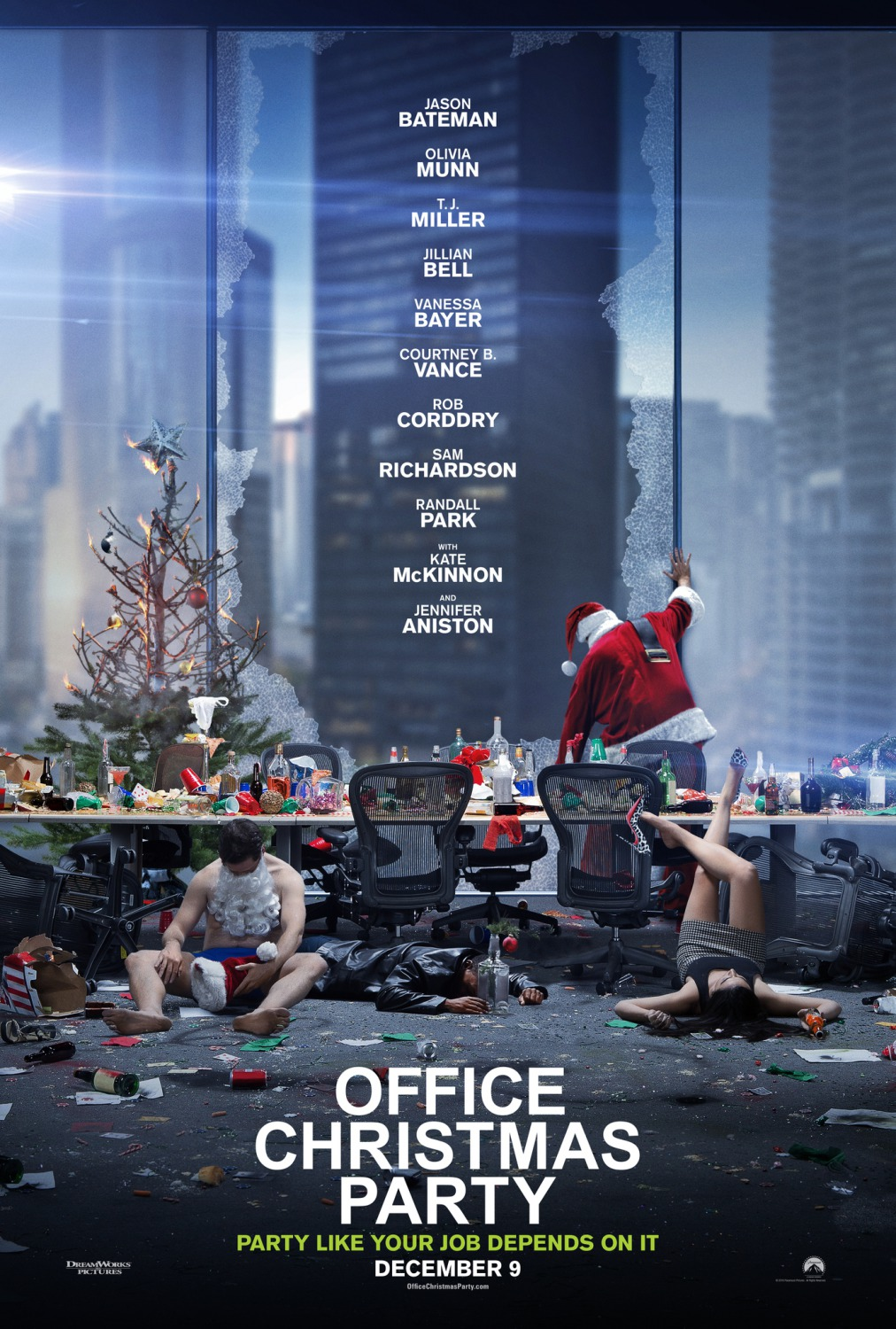 Image result for office christmas party film poster