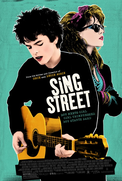 Image result for sing street movie poster
