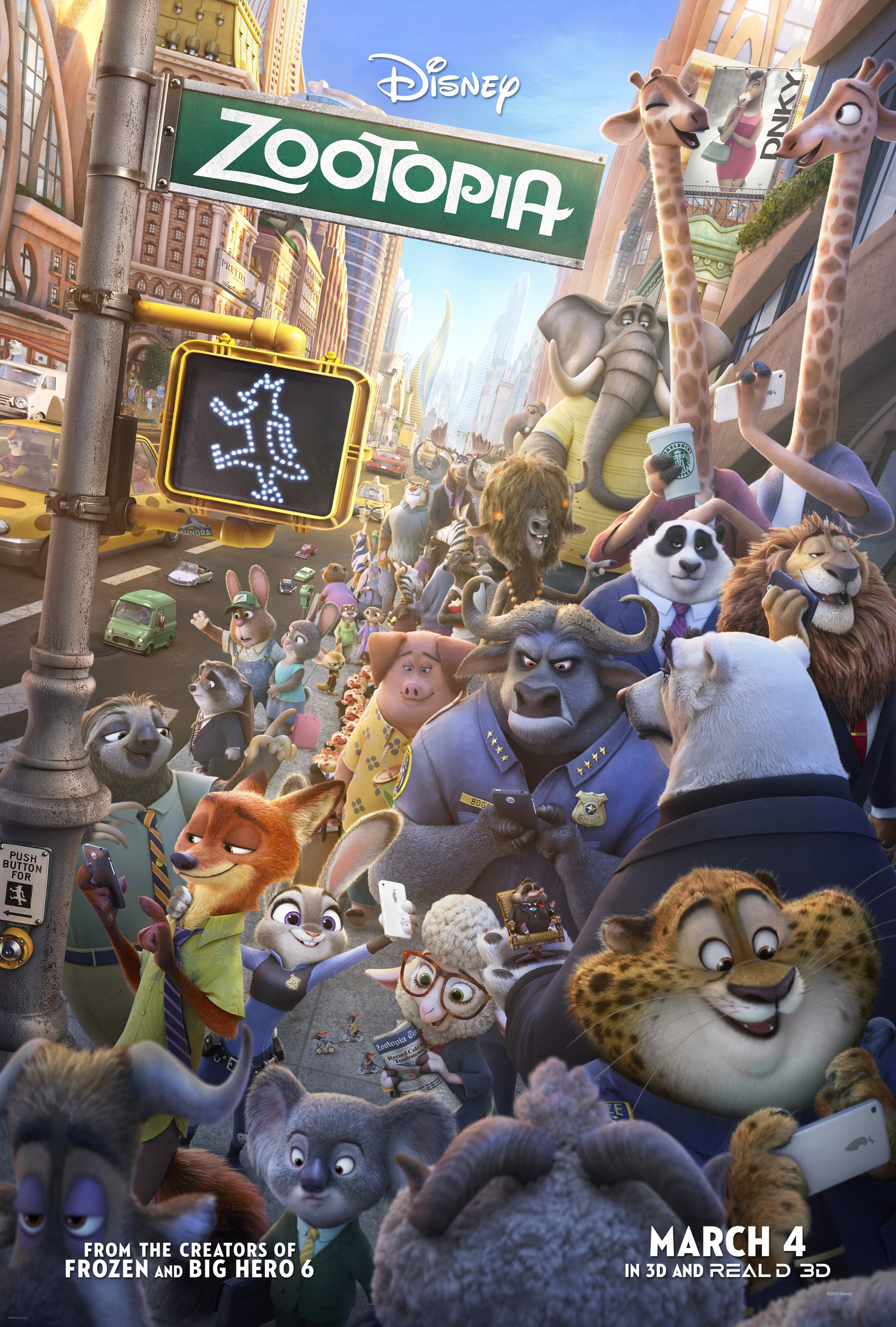 Image result for zootopia movie poster imp