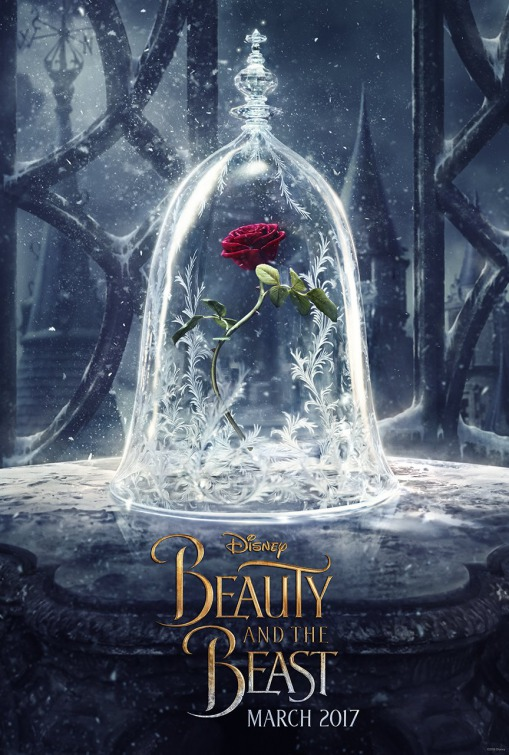Image result for beauty and the beast movie poster