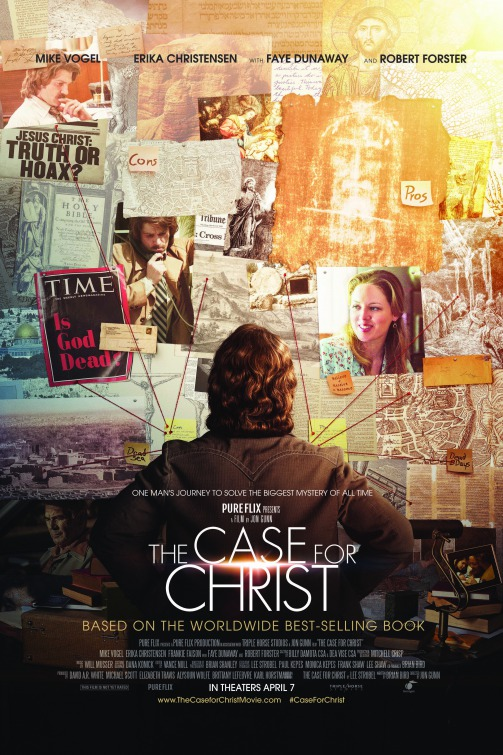 Image result for the case for christ movie poster