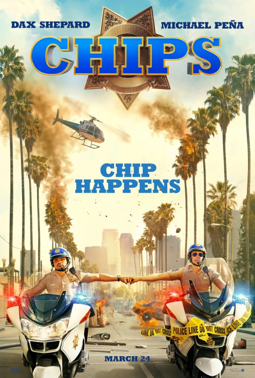 Image result for Chips movie poster