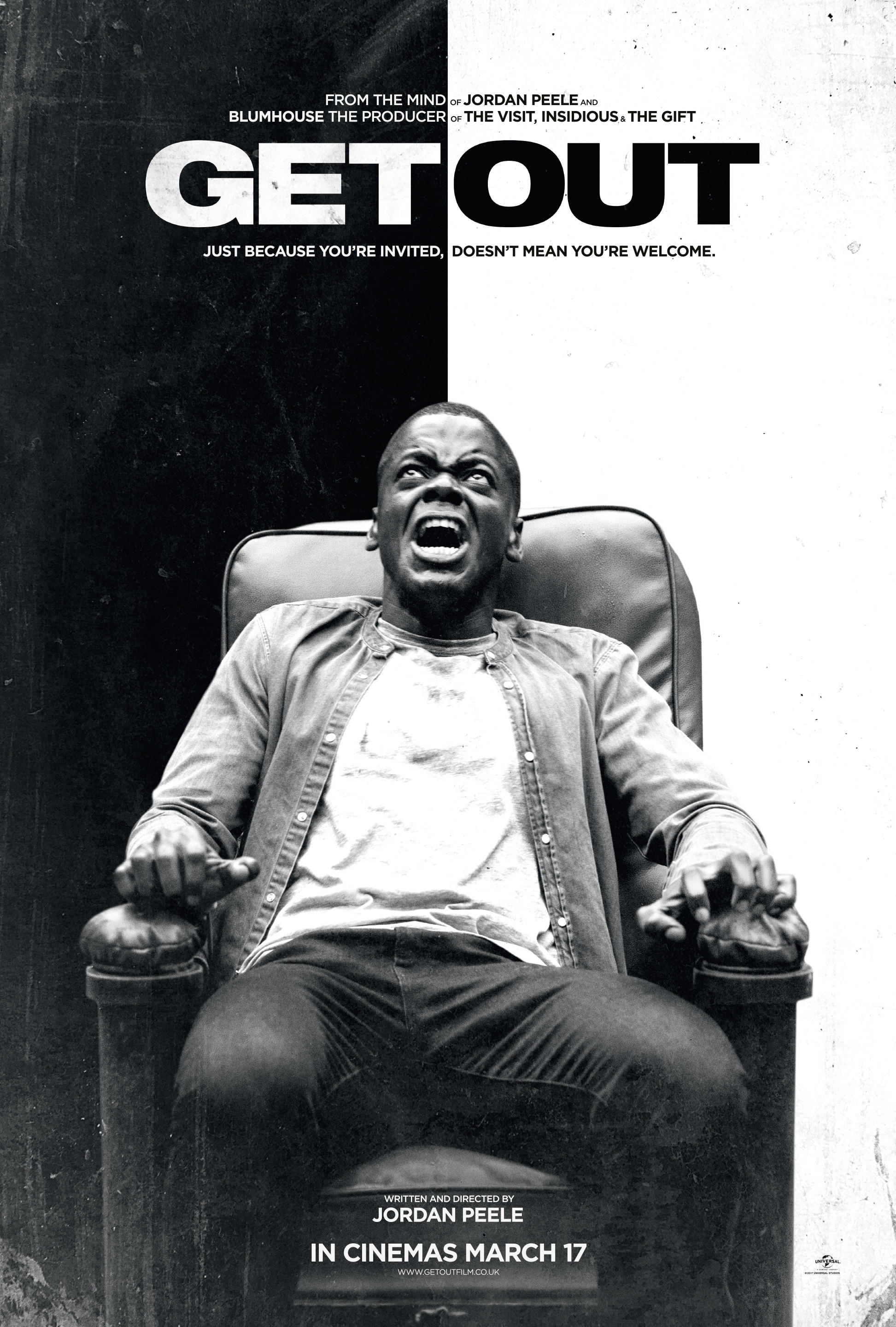 Image result for get out film poster
