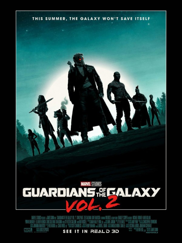 Creatieve Guardians of the Galaxy 2 poster