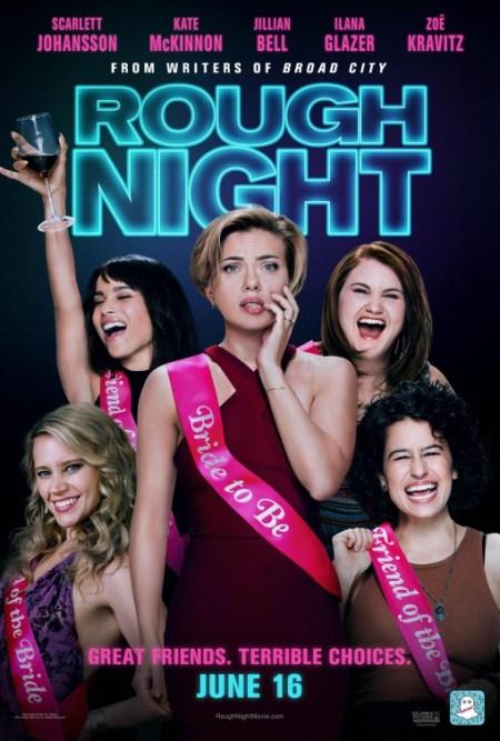 Algemene poster van Rough Night met Scarlett Johansson