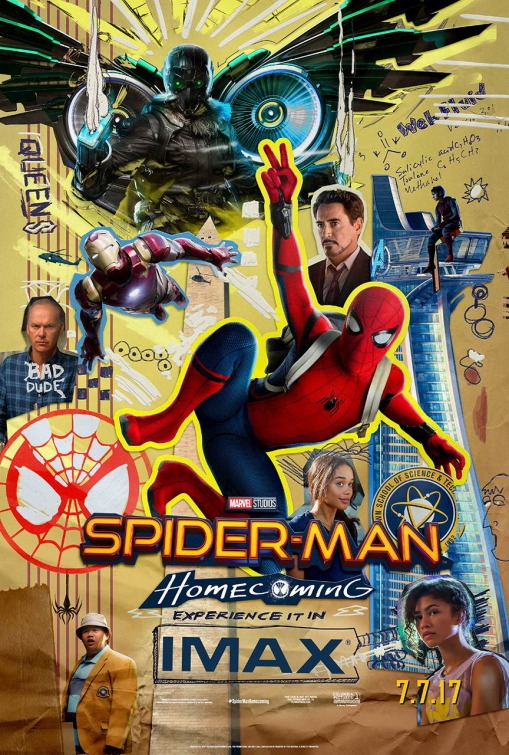 Image result for spiderman homecoming movie poster
