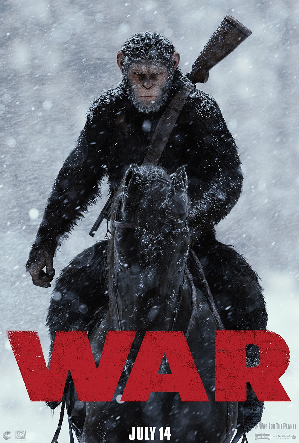 Image result for war for the planet of the apes movie poster