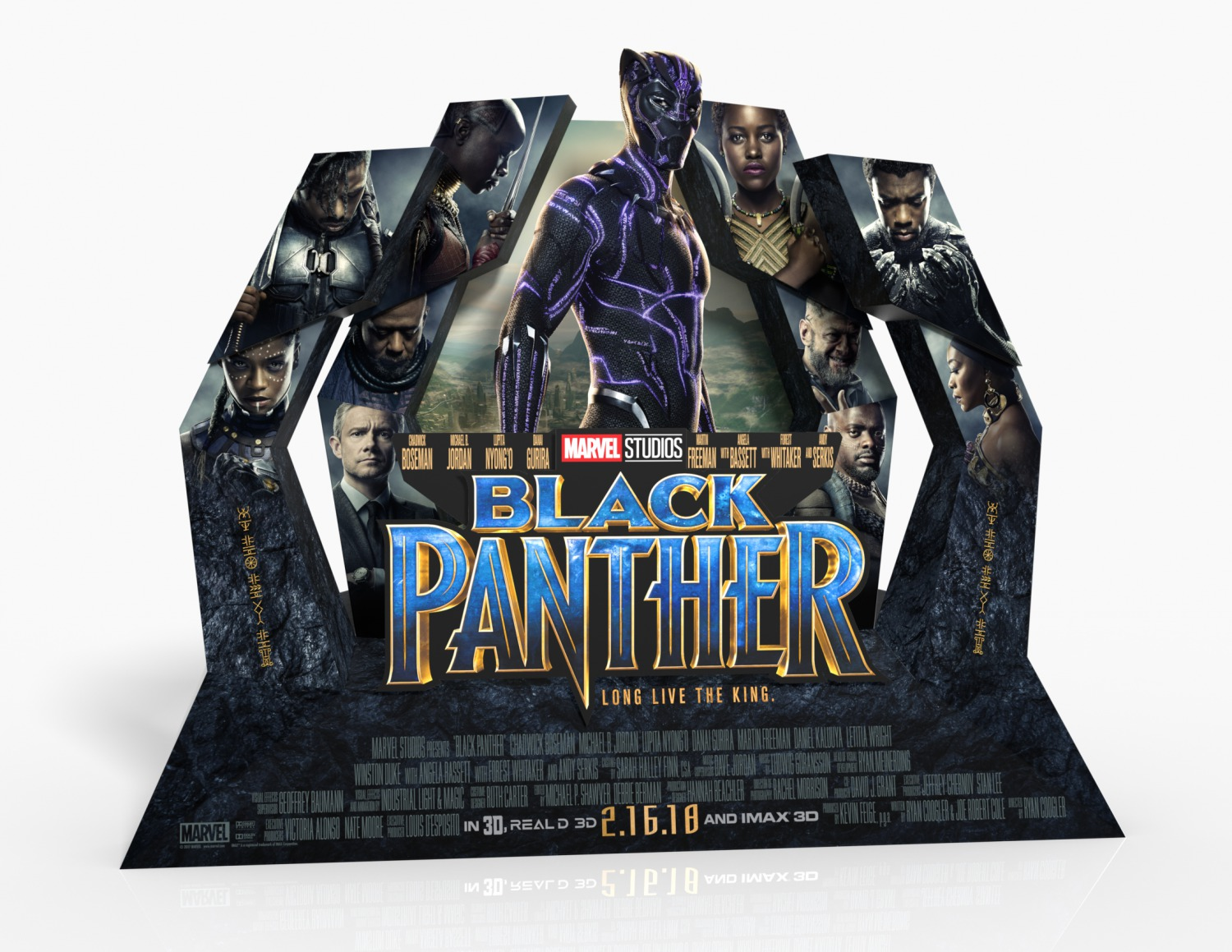 Extra Large Movie Poster Image for Black Panther (#18 of 23)