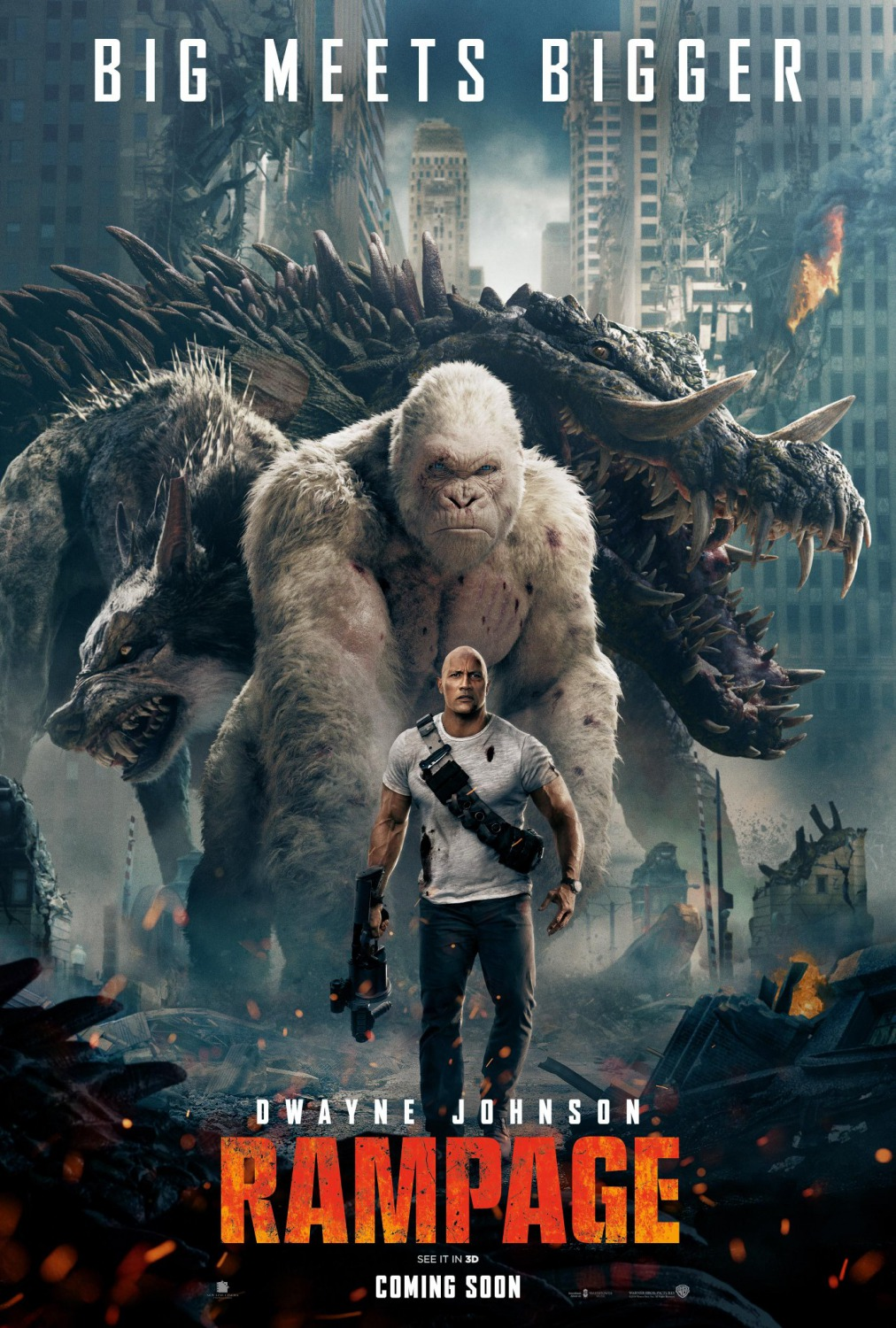 Extra Large Movie Poster Image for Rampage (#2 of 5)
