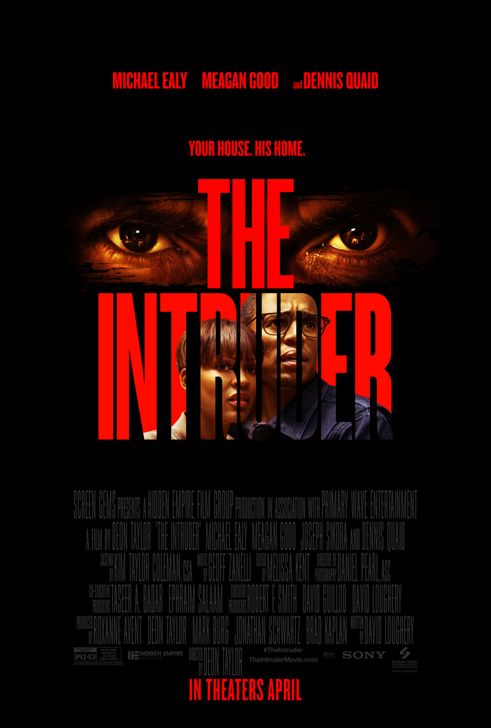 Extra Large Movie Poster Image for The Intruder (#1 of 2)