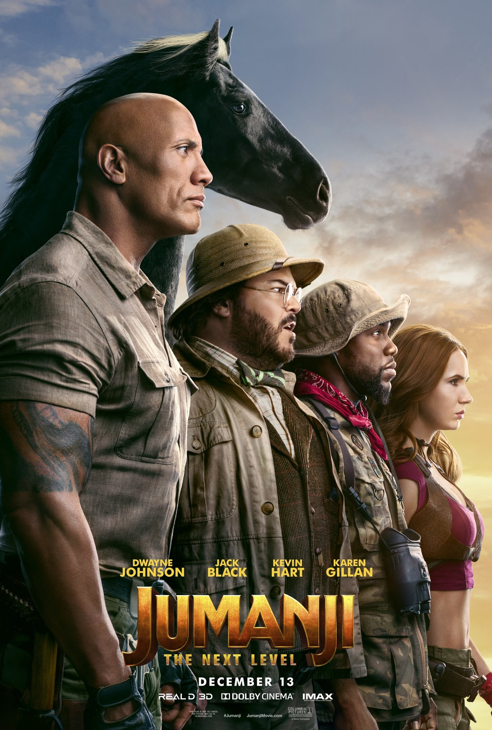 Extra Large Movie Poster Image for Jumanji: The Next Level (#3 of 3)