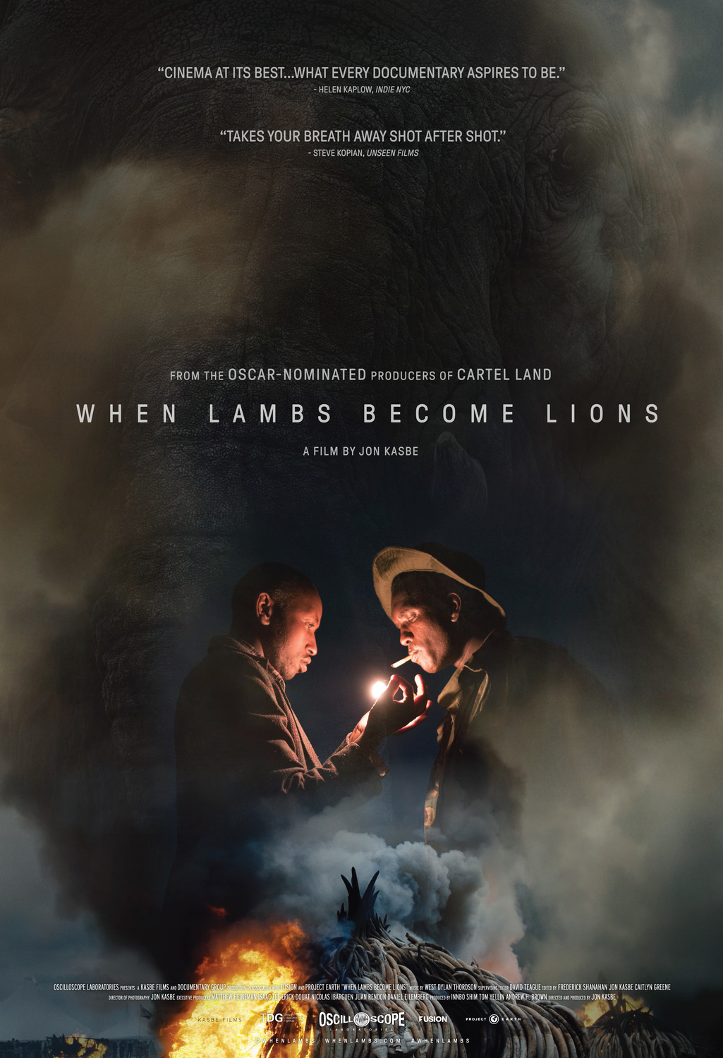 Extra Large Movie Poster Image for When Lambs Become Lions