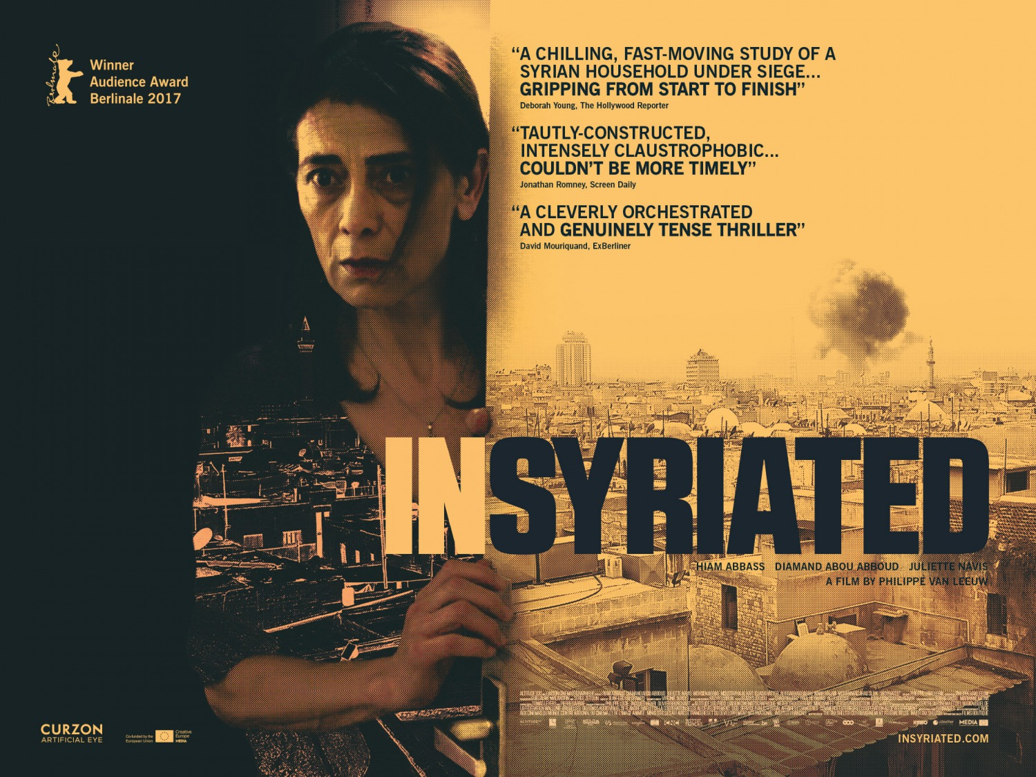 Extra Large Movie Poster Image for Insyriated (#2 of 2)
