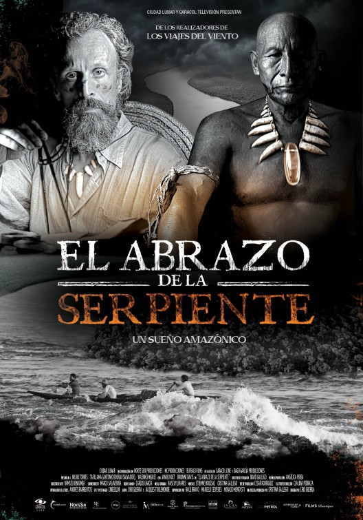 El abrazo de la serpiente Movie Poster