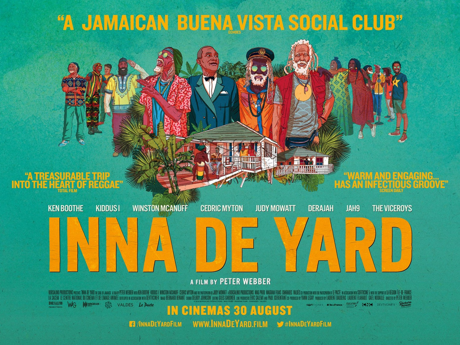 Extra Large Movie Poster Image for Inna de Yard (#2 of 2)