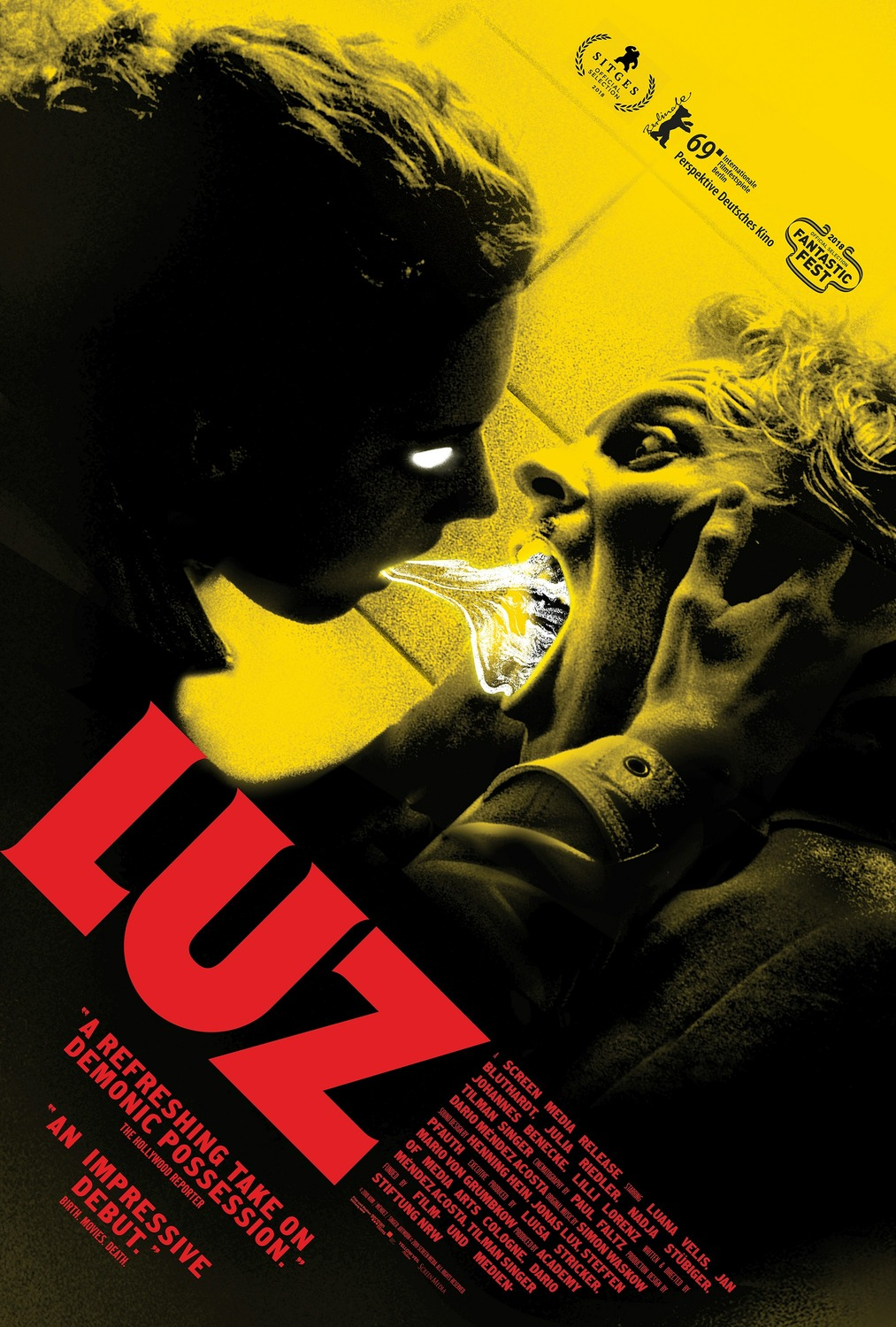 Extra Large Movie Poster Image for Luz (#2 of 2)