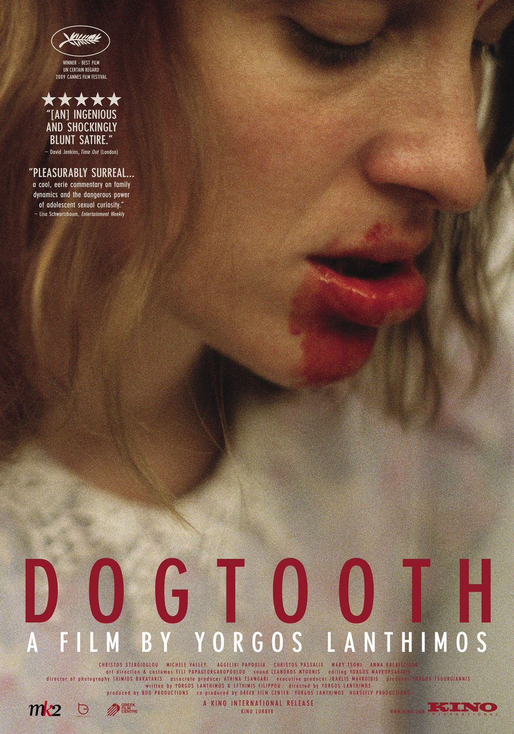 Extra Large Movie Poster Image for Dogtooth (aka Kynodontas)