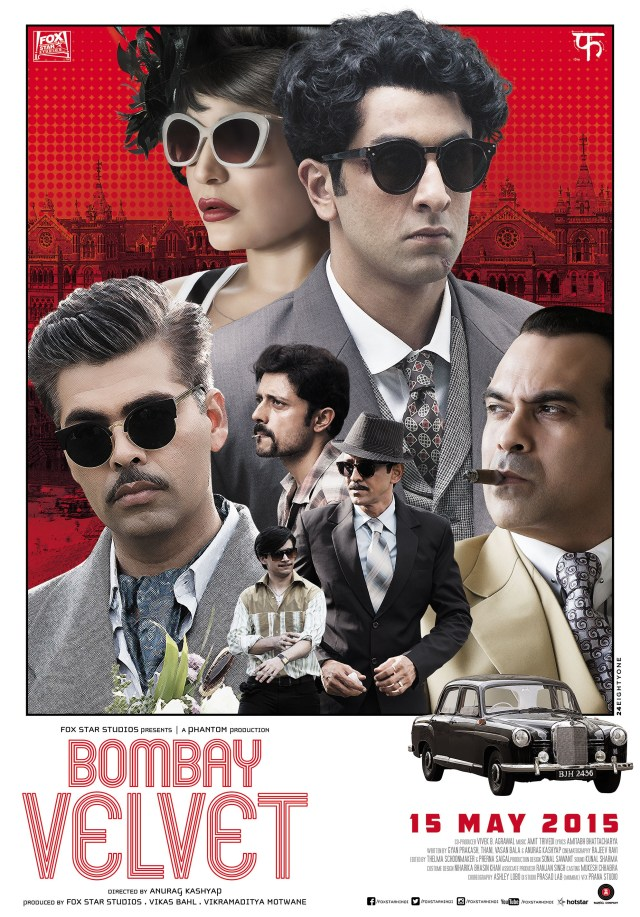Mega Sized Movie Poster Image for Bombay Velvet