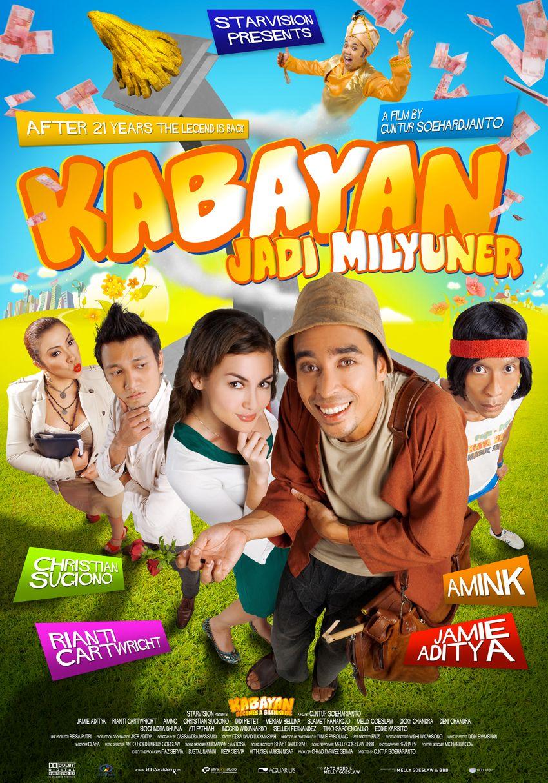 Kabayan Jadi Milyuner  Extra Large Movie Poster Image Imp