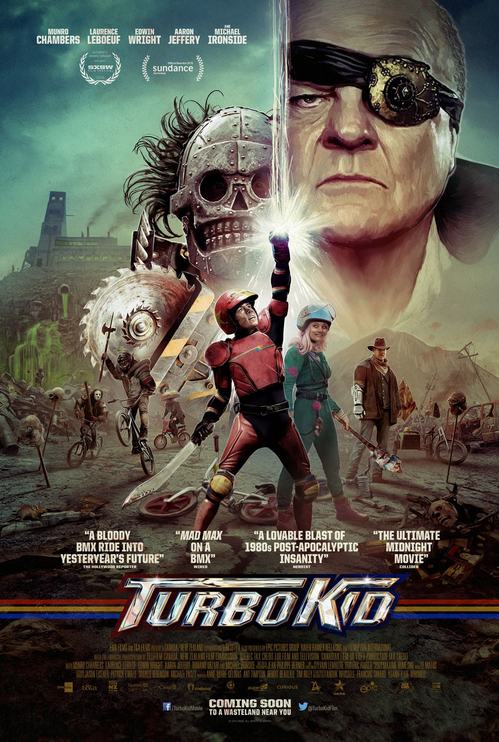 Extra Large Movie Poster Image for Turbo Kid
