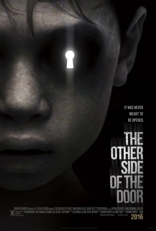Image result for the other side of the door movie poster