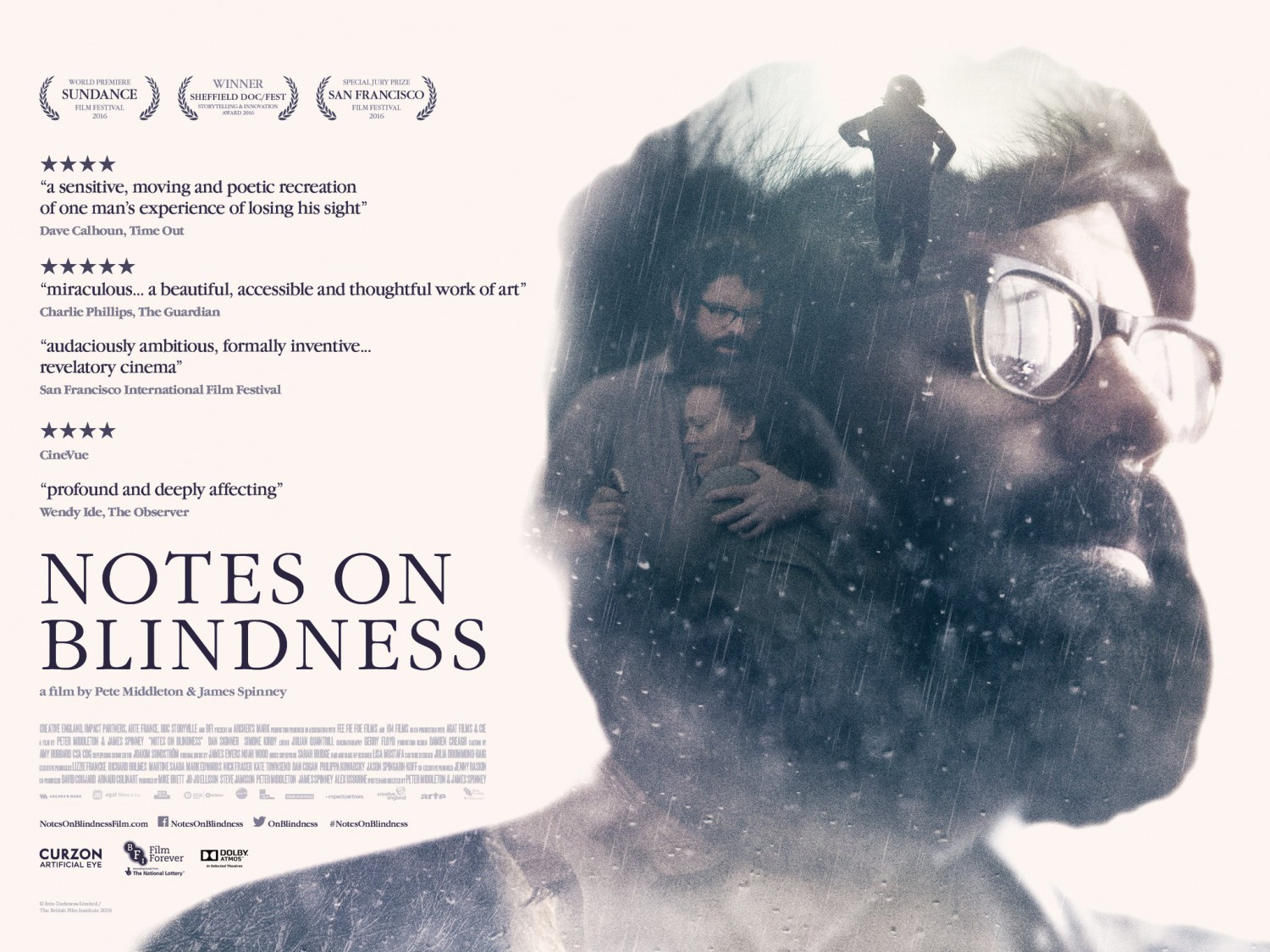 Extra Large Movie Poster Image for Notes on Blindness