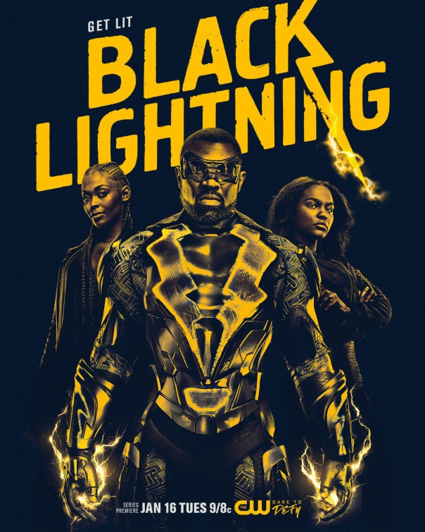 Black Lightning Movie Poster