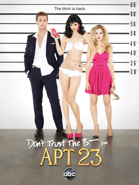"""Résultat de recherche d'images pour """"don't trust the b---- in apartment 23 poster"""""""