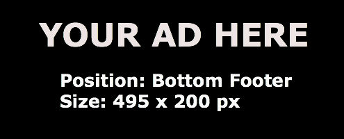 Ad Bottom Footer