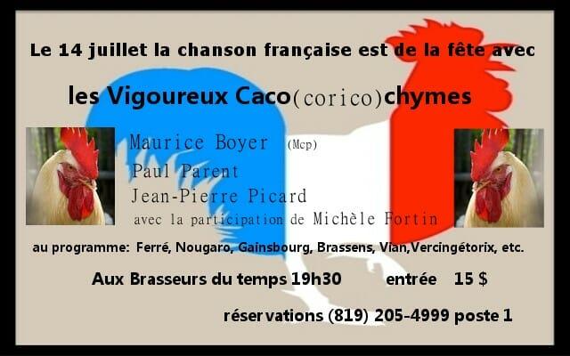 14 juillet 2014 - les Vigoureux Cacochymes