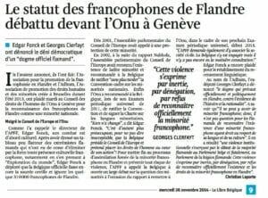 Statut francophones ONU