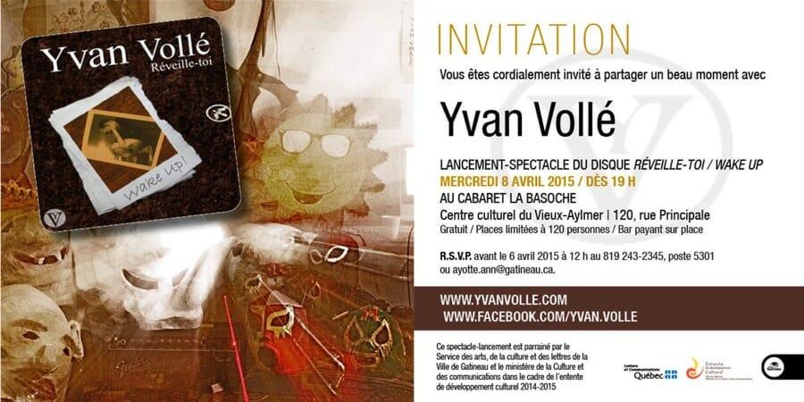 Lancement - Yvan Vollé