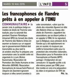 Francophone Flandre