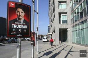Affiche Trudeau en anglais 2015