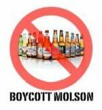 Molson boycott