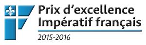 Prix d'excellence Impératif français