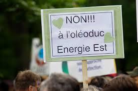 Énergie Est 2016 - Affiche NON