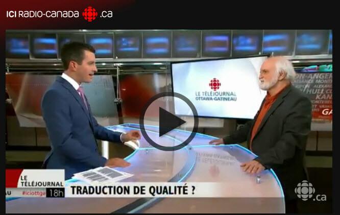 ICI Radio-Canada - Entrevue Perreault